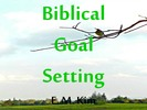 Thumbnail Biblical Goal Setting