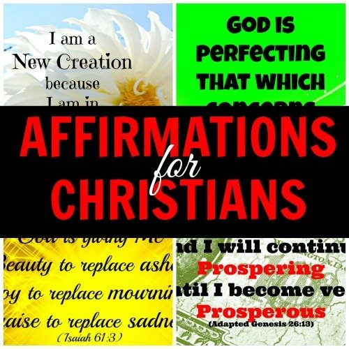 Pay for Affirmations for Christians