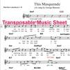 Thumbnail This Masquerade Lead Sheet (Transposable)