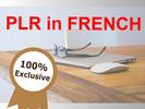 Thumbnail PLR in FRENCH - Masque Visage Bio