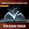 Thumbnail Subliminal Speed Reading Program - Binaural Beat Brainwave