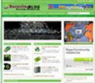 Thumbnail Recycling Blog Niche Site