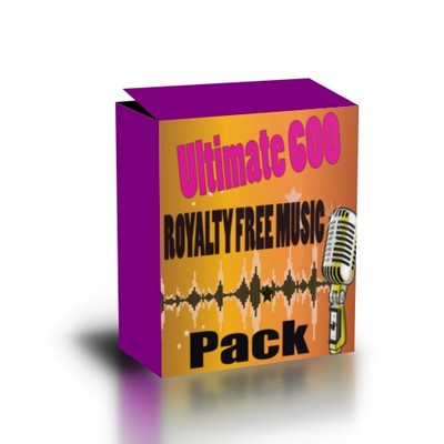 Pay for Ultimate 600 Royalty Free Music Pack