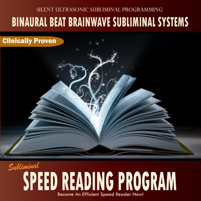 Pay for Subliminal Speed Reading Program - Binaural Beat Brainwave
