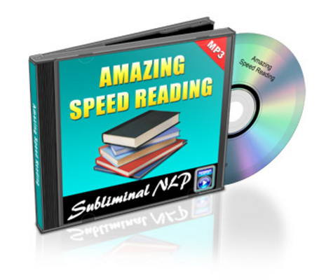 Pay for Amazing Speed Reading Subliminal MLR mp3