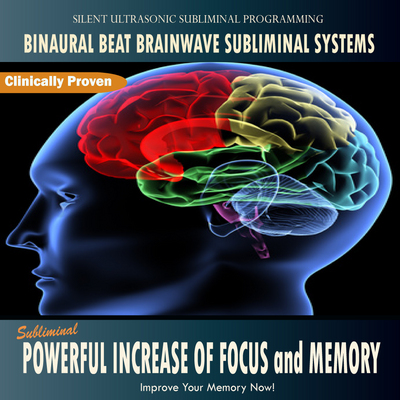 Pay for Subliminal Powerful Increase of Focus and Memory: Binaural