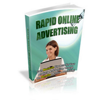 Pay for *NEW!* Rapid Online Advertising MASTER RESALE RIGHTS INCLUDE