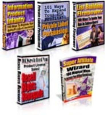 Pay for 5 Larry Dotson PLR eBooks