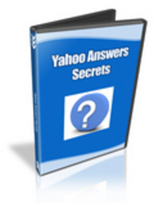 Pay for Yahoo Answers Secrets with Resale Rights