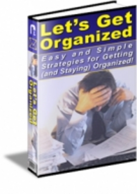 Pay for Lets Get Organized