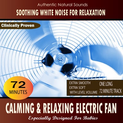 Pay for Calming and Relaxing Electric Fan for Babies