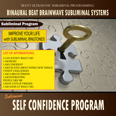 Self Confidence Program - Subliminal Messages Ringtone