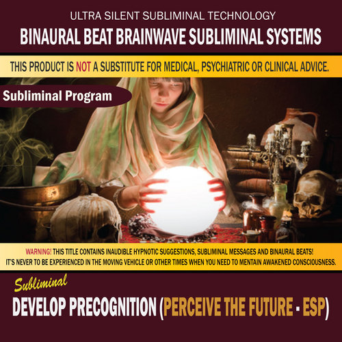 Pay for Develop Precognition (Perceive the Future - ESP)
