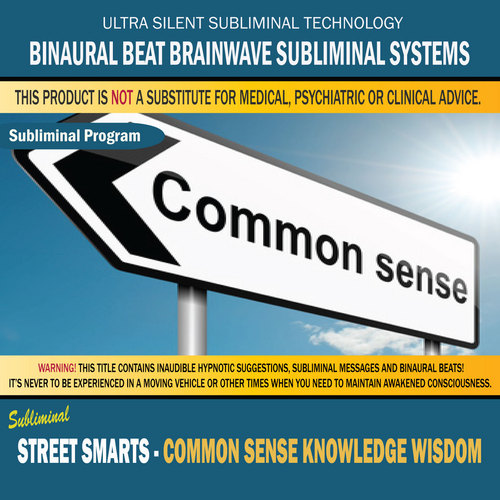 Pay for Street Smarts - Common Sense Knowledge Wisdom
