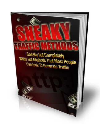 Pay for Sneaky Traffic Methods - Sneaky But Completely White Hat Met