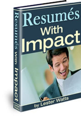 Pay for Resumés with Impact