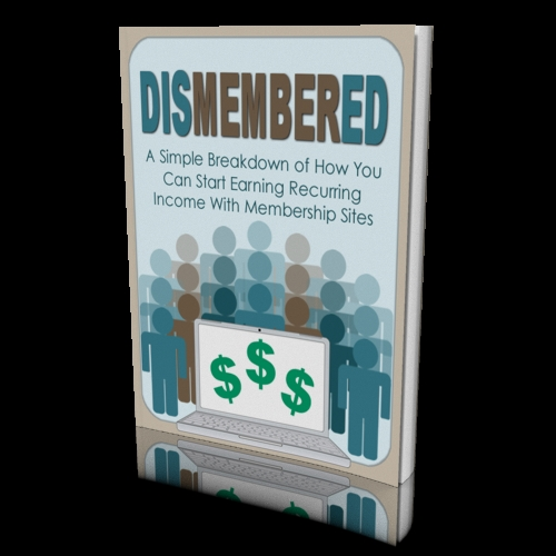 Pay for Dismembers-How To Build Membership Site (Personal Use)