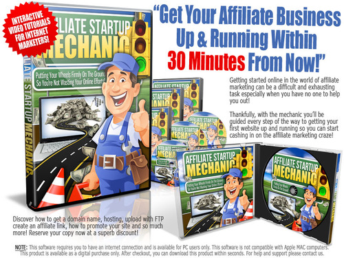 Pay for Affiliate Startup Mechanic Master Resell Rights