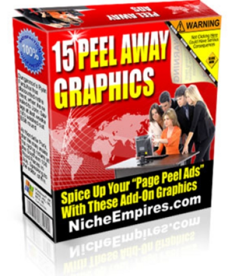 Pay for 15 Peel Away Graphics PLR