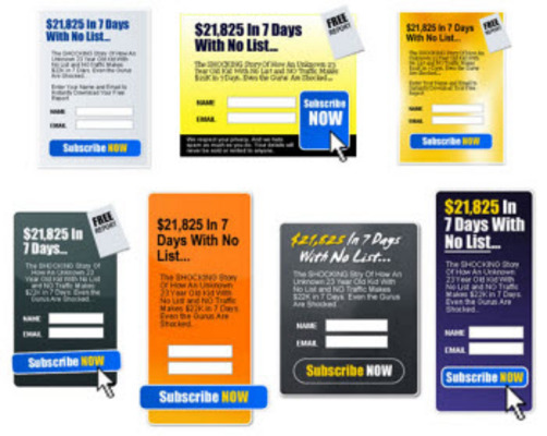 Pay for Opt In Boxes Templates-MRR