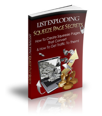 Pay for List Exploding Squeeze Page Secrets-Master Resell Rights