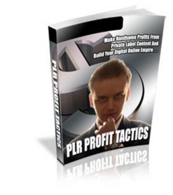 Pay for PLR Profit Tactics-MRR