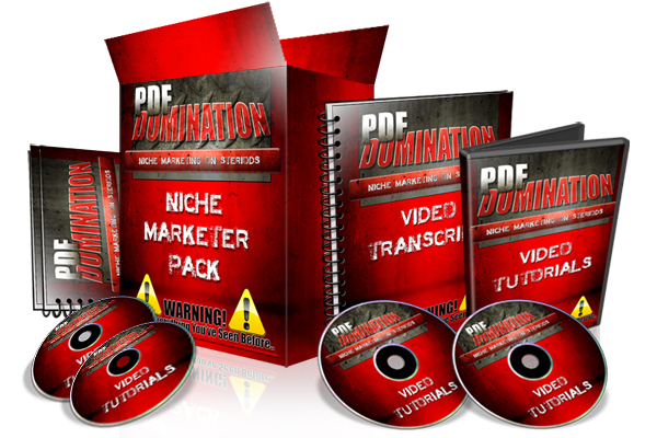 Pay for PDF Domination-with Master Resell rights