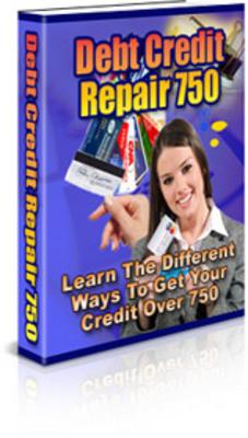 Pay for Debt Credit Repair Ebook