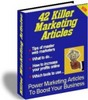 Thumbnail 42 Killer Marketing Articles + resell rights w/mrr