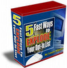Thumbnail 5 Fast Ways To EXPLODE Your Opt-In List + resell rights