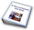 Thumbnail 51 Ways To Organize Your Home + resell rights