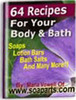 Thumbnail 64 Recipes For Your Body And Bath + resell rights w/mrr