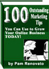 Thumbnail 100 Outstanding Marketing Tips with mrr/resale rights