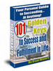 Thumbnail 101 Golden Keys to Success and Fulfillment In Life mrr