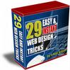 Thumbnail 29 Easy & Instant Web Design Tricks V. 1 with mrr