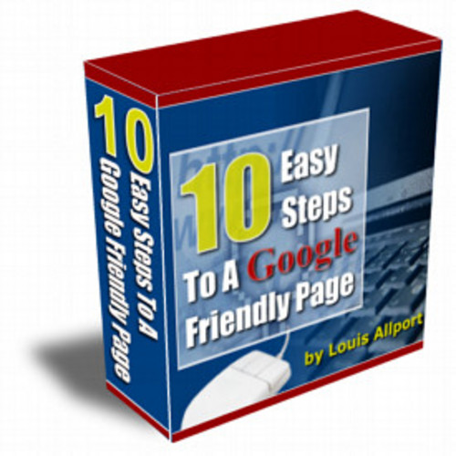 Pay for 10 Easy Steps To A Google Friendly Page mrr