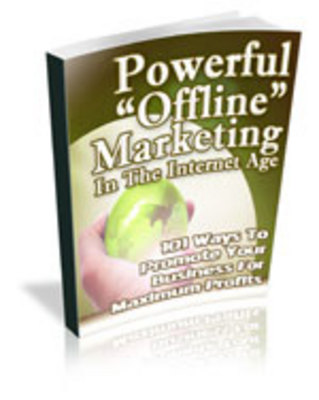 Pay for Powerful Offline Marketing (Master Resale Rights Included)