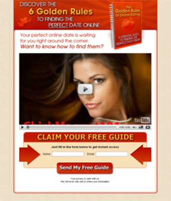 Dating squeeze page