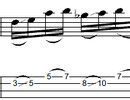 Thumbnail L351 Fast sliding pentatonic bass run