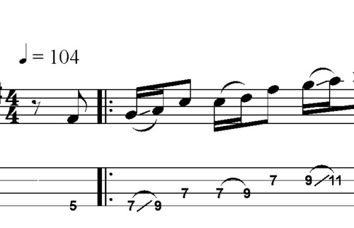 Pay for L15 A major pentatonic scale melody