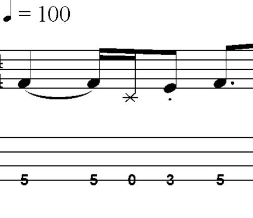 L48 Blues Bass lick-fill in A