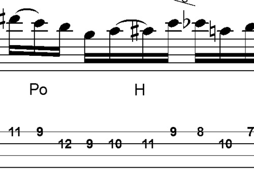 Pay for L294 Jazzy Bluesy Lick In A