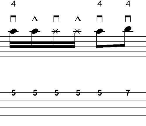 Pay for L282 Picked octave groove in D