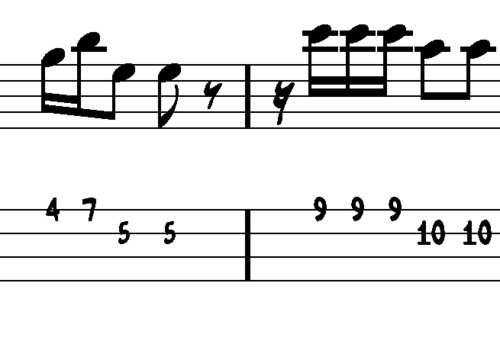 Pay for L112 Muted reggae bass groove in G