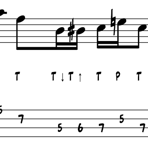 Pay for L92 Double thumb bass exercise in Am