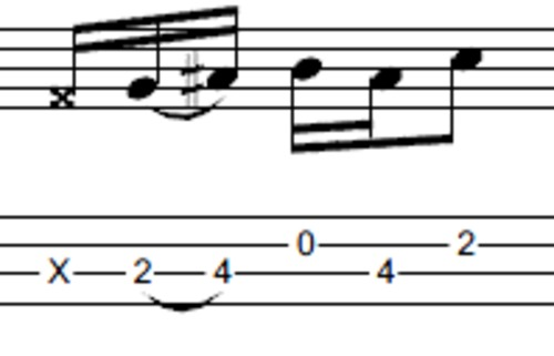 Pay for L352 Funky bass groove and fills with open strings