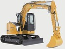 Thumbnail CASE CRAWLER EXCAVATOR CX75SR CX80 TIER 3 WORKSHOP MANUAL