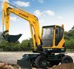 Thumbnail ROBEX MINI EXCAVATOR R55W-9 R 55W-9 WORKSHOP SERVICE MANUAL