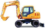 Thumbnail ROBEX WHEEL EXCAVATOR R95W-3 R 95W-3 WORKSHOP SERVICE MANUAL