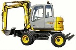 Thumbnail NH MH2.6 MH3.6 MOBILE EXCAVATOR WORKSHOP SERVICE MANUAL